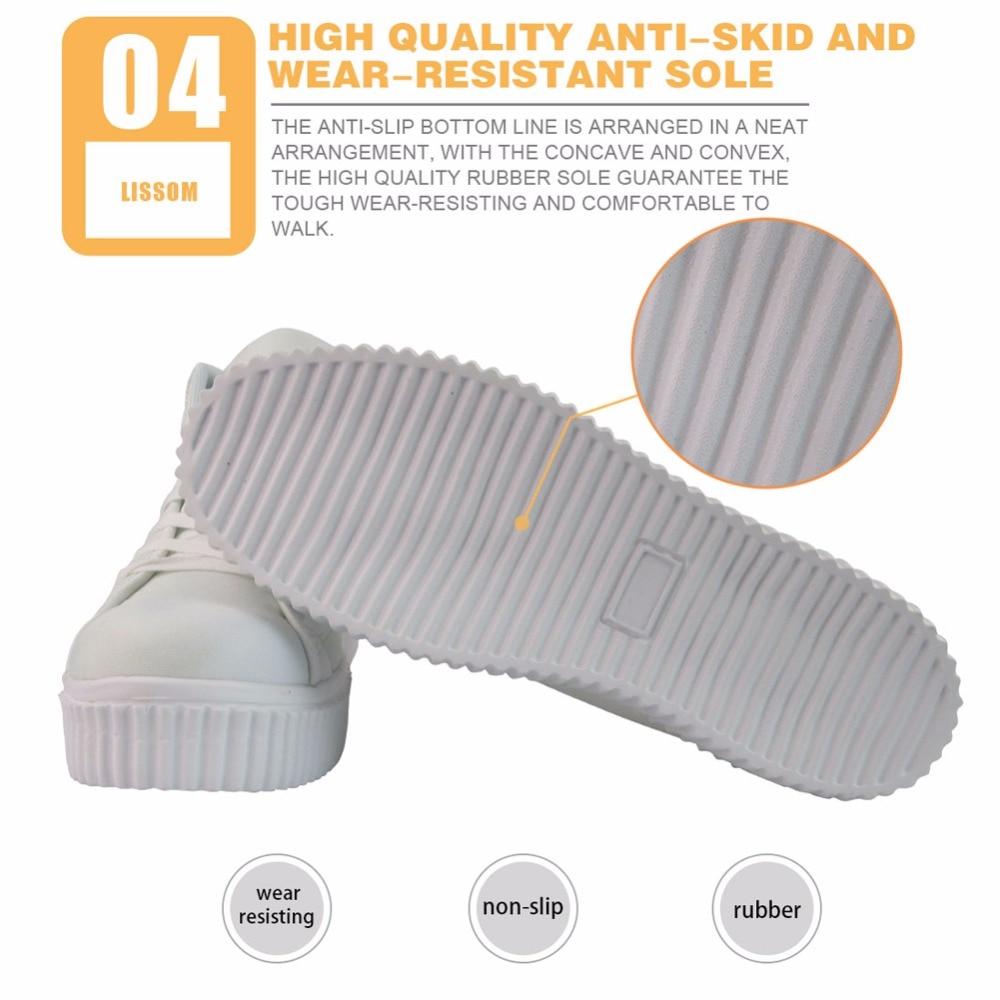 INSTANTARTS 3D amant livre imprimer femmes automne plate-forme décontracté respirant haut plat chaussures Zapato hauteur augmentant - 5