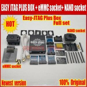 Image 2 - Jtag juego completo de caja fácil plus, Easy Jtag plus box + JTAG fácil de EMMC socket + NAND socket, versión 2020 ORIGINAL