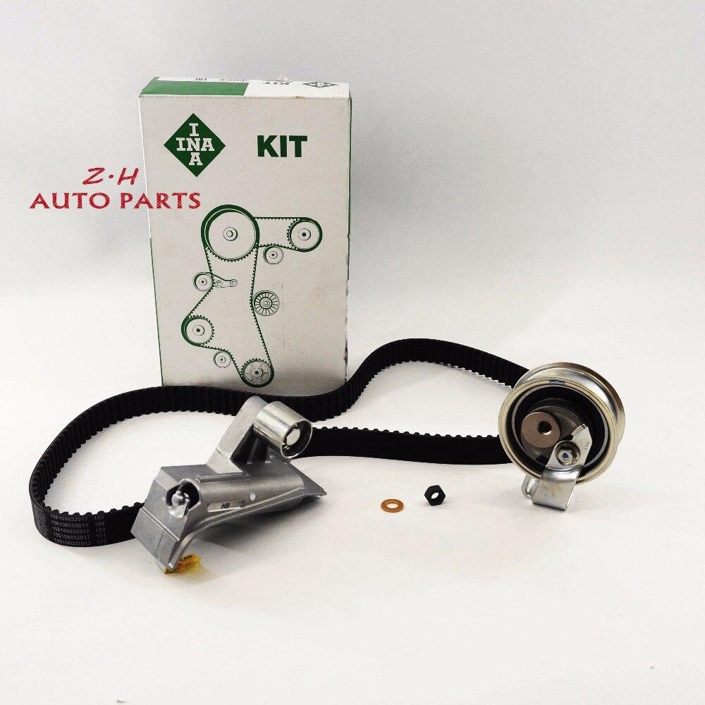 OEM Timing Belt Tensioner kit For VW Jetta Golf Beetle Passat A4 A6 TT 1.8T 06B 109 119 A 06B 109 243 B 06B 109 477 A 06B109119A
