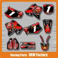 Customized Team Graphics & Backgrounds Decals 3M Stickers For CR CR125 CR250 CR12R CR250R 1995 1996 MX Enduro