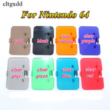 cltgxdd For N64 Door Cover Jumper Pak Lid Memory Expansion Pak For Nintendo64 Expansion pack Card slot cover doors cover high quality expansion pak memory card for n64 controller