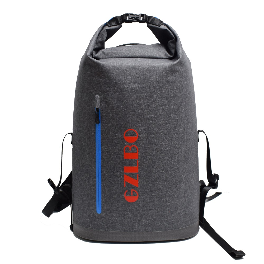 Gzlbo 40cans Backpack Cooler Bag Oxford Tpu Dark Gray Waterproof Insulated Food Delivery Beer Picnic In Bags From Luggage