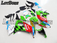 Moto Injection Molding Motorcycle Fairing Kit Fit For Kawasaki ZX10R ZX 10R 2008 2010 08 10 Bodywork Fairings Custom
