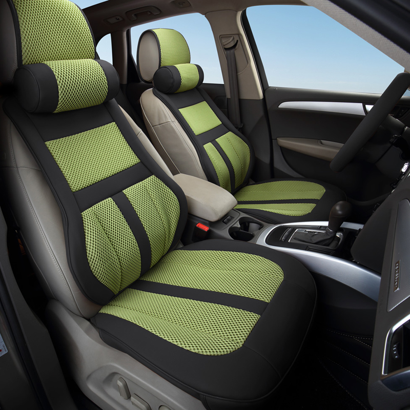Luxury leather car cushion seat covers universal for HYUNDAI Solaris Getz Elantra Accent Tucson Sonata i30 ix35 3D car-styling