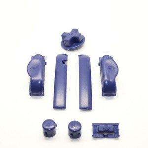 Image 4 - ChengHaoRan 30x 16 couleurs A B coloré L R boutons claviers pour Gameboy Advance boutons cadre pour GBA D Pads bouton marche/arrêt
