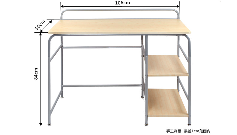 106*50*84cm Mutil-Purpose Table Computer Desk Laptop Desk Study Desk office table 120 45cm portable bedside notebook table mutil purpose rremovable computer desk lazy laptop desk children study desk with wheels