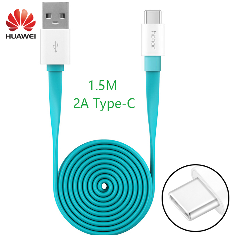 HUAWEI P9 Plus Fast Charger Cable Original 1.5M 2A Type-C USs