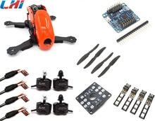 drone with camera Robocat 4-Axis Carbon Fiber Quadcopter Frame Naze32 10DOF 2204 Motor 12A ESC props ~Orange