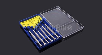6in1  Mini Precision Screwdriver Set Screwdriver Combination Package Decoration Wrist Watch Cell Phone Repair Tools 100set/sets