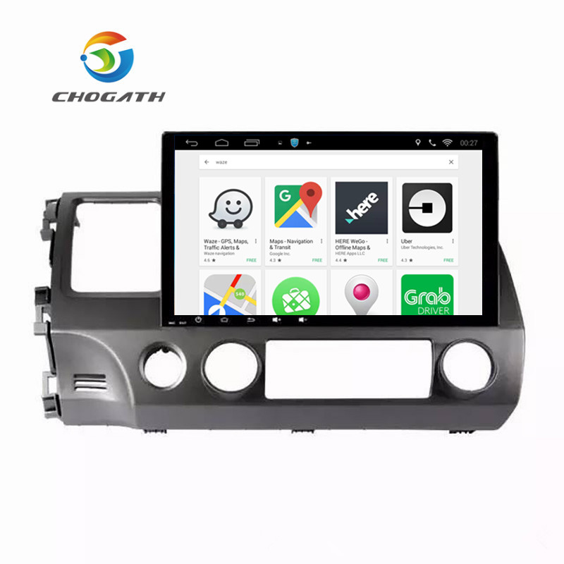 ChoGath 10,2 ''Octa Core Auto DVD <font><b>Android</b></font> 9.0 Auto Radio GPS Navigation-Player für <font><b>Honda</b></font> <font><b>civic</b></font> 2006-2011 <font><b>Stereo</b></font> multimedia image