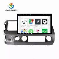 ChoGath 10.2'' Octa Core Car DVD Android 9.0 Car Radio GPS Navigation Player for Honda civic 2006 2011 Stereo Multimedia