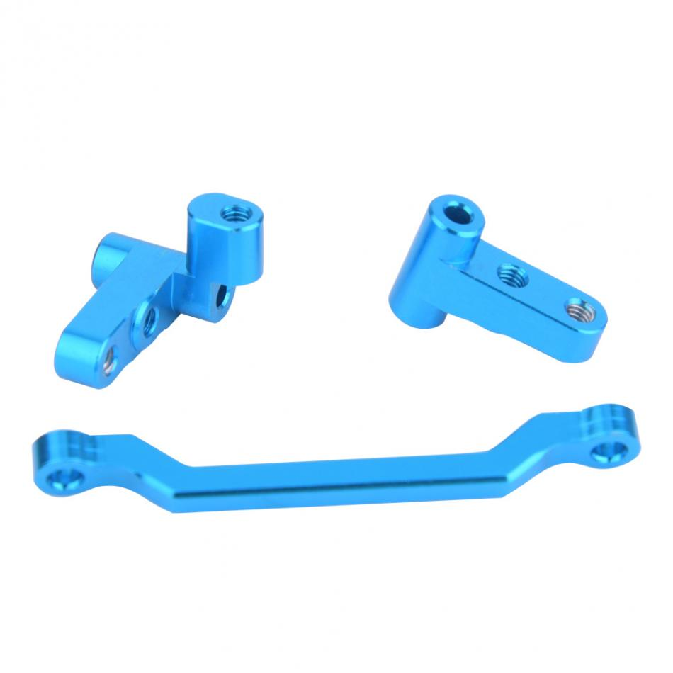 3PCS/Set Updated Metal RC Car Steering Linkage Turning Set For WLtoys A949 A959-B A969 A979 K929 Remote Control Car Spare Parts