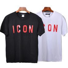 Dsqicond2 брендовые dsq 2020 повседневные футболки с принтом