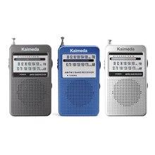 Новый портативный 2 полосный карманный радиоприемник AM/FM с цифровым дисплеем и поддержкой стереорежима