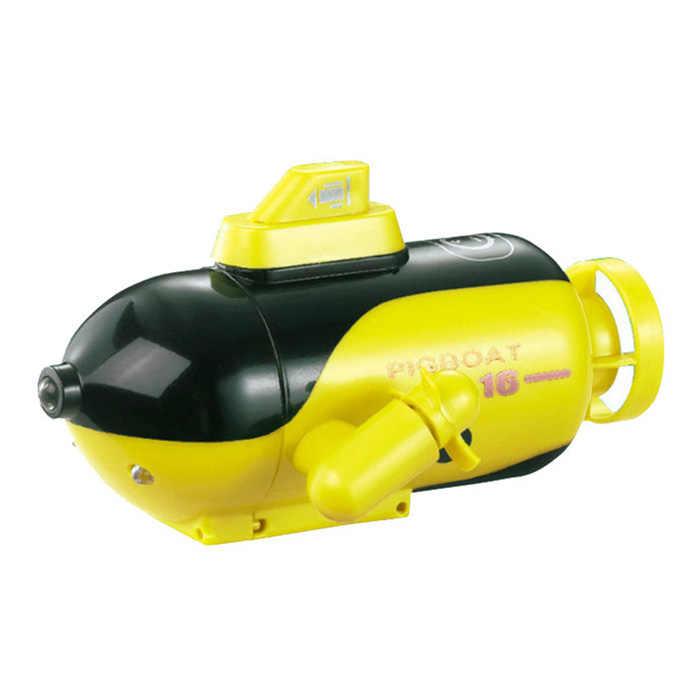 777-219 2,4 ГГц Беспроводная подводная лодка мини лодка с дистанционным управлением электрическая игрушка 4CH RC игрушечные лодки Дайвинг Удаленная вода игрушки детские подарки