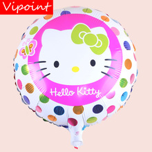 VIPOINT PARTY 18inch Cats Foil Balloons 10 Pieces Wedding Event Christmas Halloween Festival Birthday Party HY-221