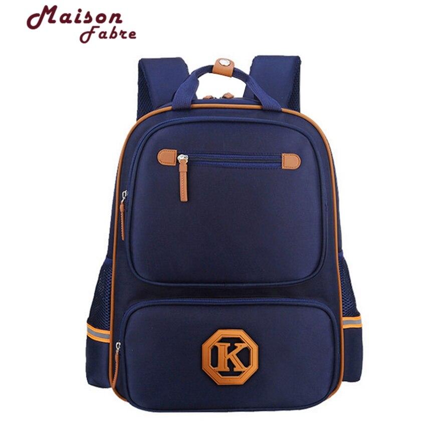 Maison Fabre Fashion Children School Bags Students Nylon Children Backpacks School Bag Boys Girls Mochila Escolar Mochila 106#30