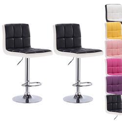 2 PCS Weiche PU Leder Bar Stuhl Einstellbar Hebe Hohe Hocker Bar Stuhl Moderne Küche Wohnzimmer Swivel Bar Stuhl funiture HWC