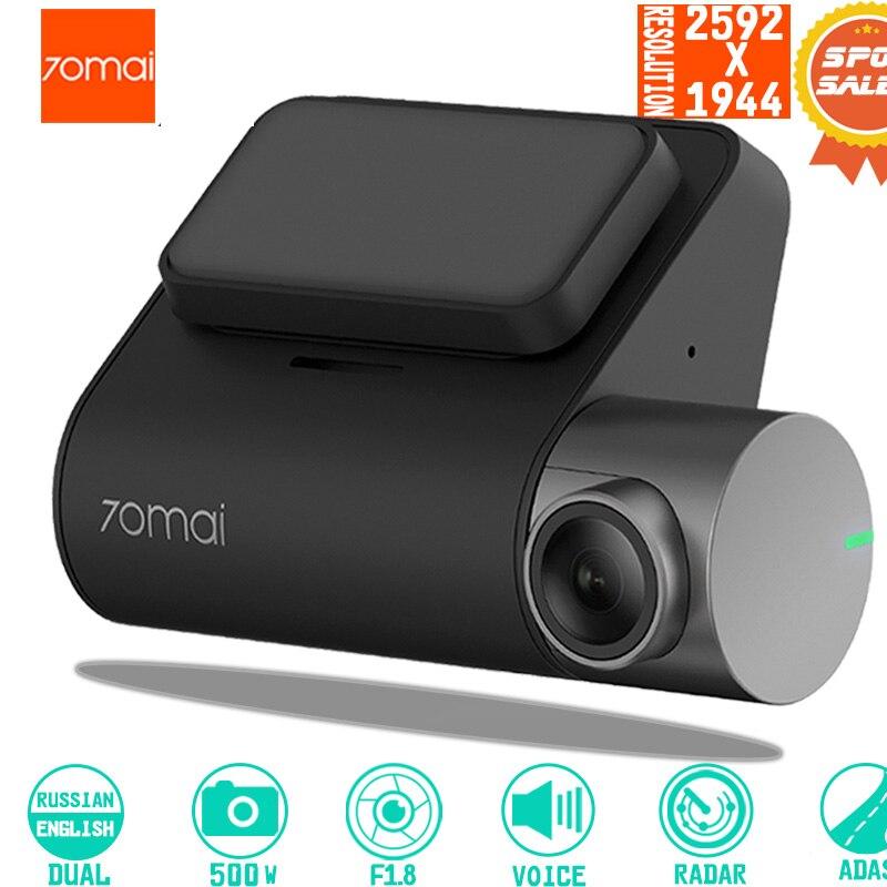 70mai Dash Cam Pro smart Voiture 1944 P HD Enregistrement Vidéo Avec WIFI Fonction Arrière Vue Caméra véhicule moniteur de stationnement