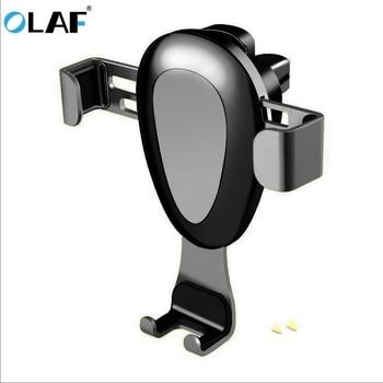 Olaf Gravity Car Phone Holder Universal Smartphone Grip Air Vent Mount Mobile Phone Holder Stand Car holder Stand Support GPS mobile phone car vent holder