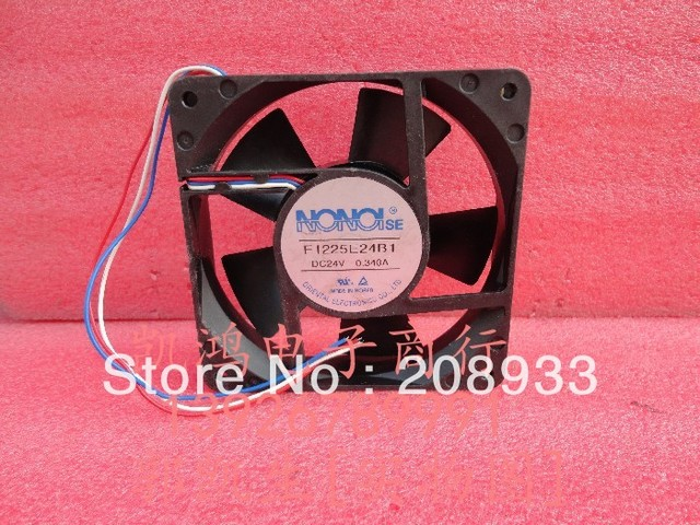 US $30 08 20% OFF|Aliexpress com : Buy For NONOI F1225E24B1 24V 0 34A 12CM  12025 three wire inverter ++cooling fan from Reliable cooling fan suppliers