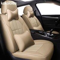 Kokololee авто на заказ из натуральной кожи чехол автокресла для mercedes benz A B C gl c180 c200 e300 w211 w203 w204 мл подушки автомобиля чехлы для сиденья