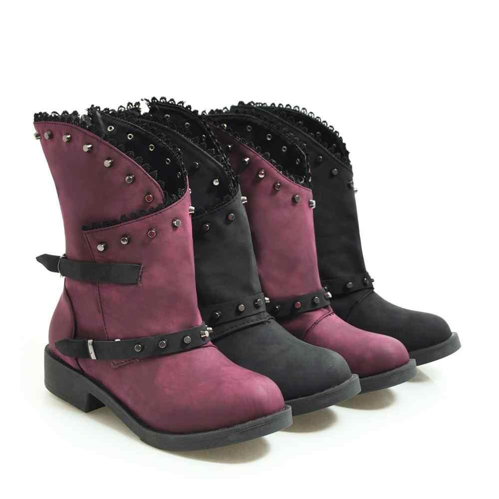 S. romantik Kadın Botları 2019 Artı Boyutu 34-43 Yeni Moda Kadın Yüksek Topuklu Ayakkabılar Bayan Pompaları Siyah Mor SB297