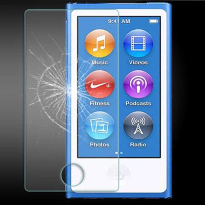 Tempered Glass Shield Guard For Apple Ipod Nano 7 8 Protective Film Nano7 Nano8 MP3 Front Screen Display Protector Cover