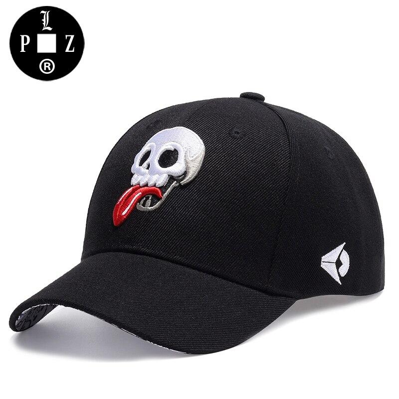 PLZ Swag Design Baseball Cap Funny Skulls