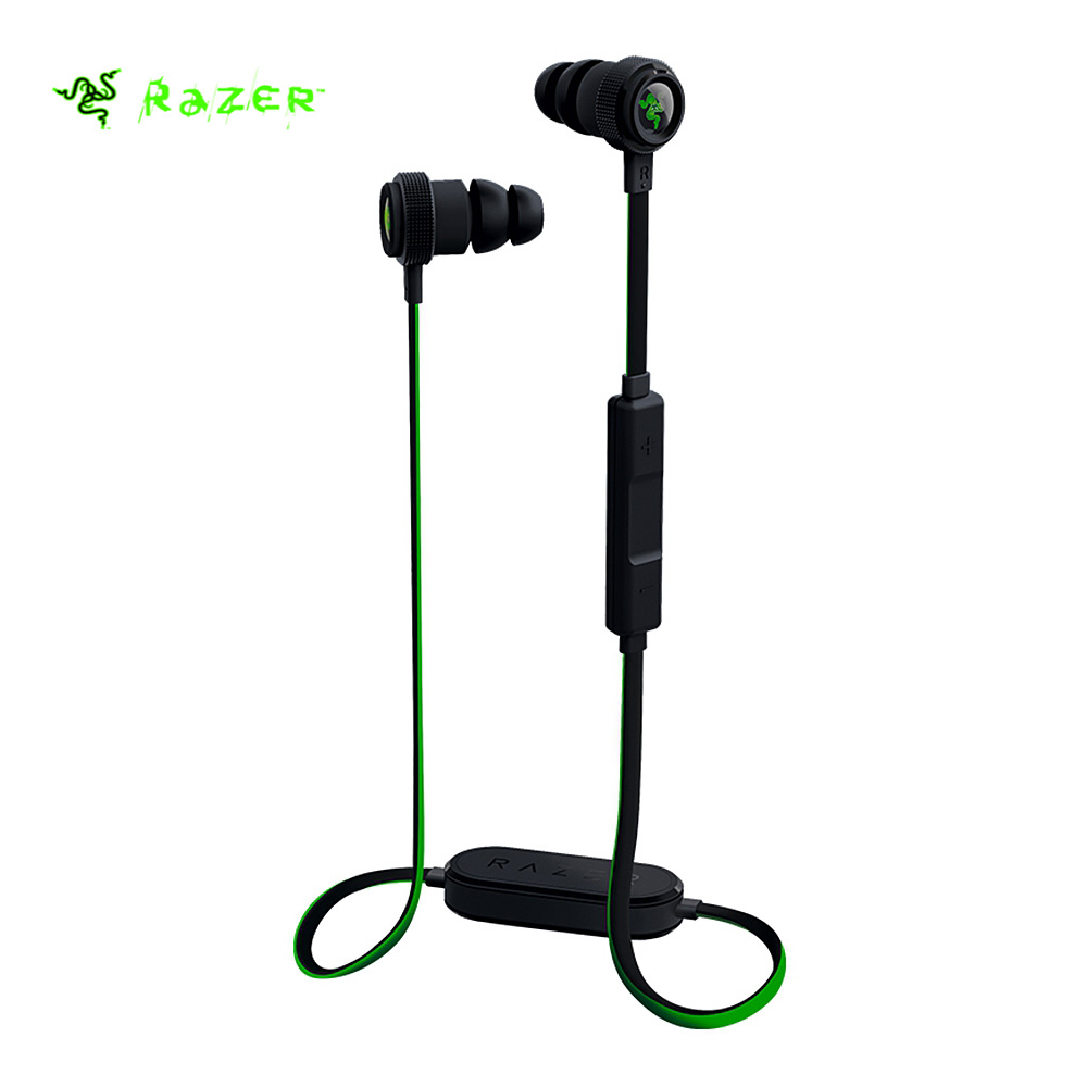 Original Razer Hammerhead Bluetooth Wireless Headset with In line Remote Mic for iOS Devices Phone PC