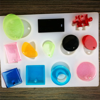 Pendant Fashion Epoxy Resin Molds Scrapbooking Silicone Mould DIY Resin Decorative Craft Jewelry Making Mold