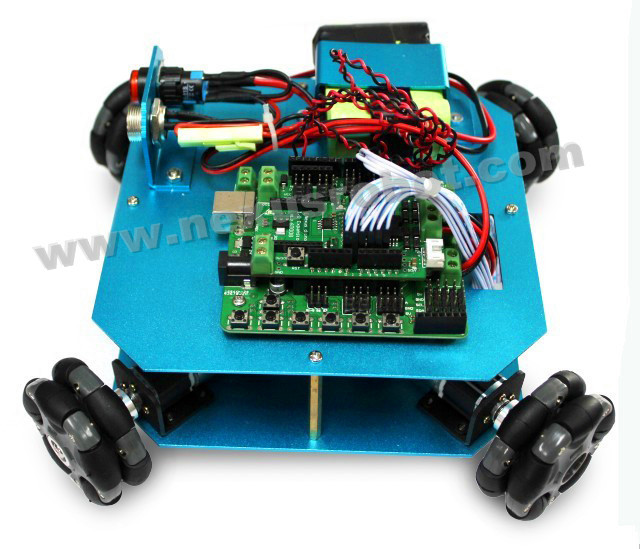4WD 58mm Omni Wheel Arduino Robot Kit 100204WD 58mm Omni Wheel Arduino Robot Kit 10020