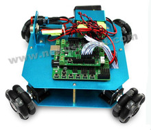 4WD 58 мм Omni колеса Arduino робот Комплект 10020