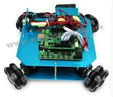 4WD 58mm Omni Wheel Arduino font b Robot b font font b Kit b font 10020