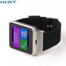 FREZEN GV18D Reloj Inteligente Bluetooth Reloj de Sincronización Notificador Relojes Tarjeta Sim Para Teléfono Inteligente Android Smartwatch