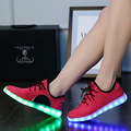 2016 Coconut Shoes Woman Flat With Led Shoes Tenis Size Zapatos Mujer Size 4.5-12 Lovers Light Up Women Casual Shoes