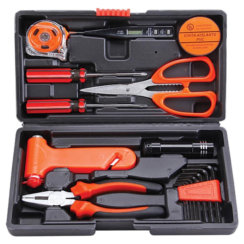 Paron 18Pcs Universal Multi functional Precision Repair Hardware Instrumental Set Electrical Pen Home Diy Hand Repair Tool Kits