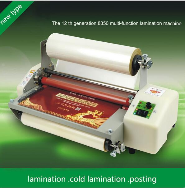 New generation 8350T Laminator A3+Four Rollers Laminator Hot Roll Laminating Machine,High-end speed regulation 1pc 1pc 12th 8460t a2 multi function laminator hot roll laminating machine high end speed regulation laminating machine