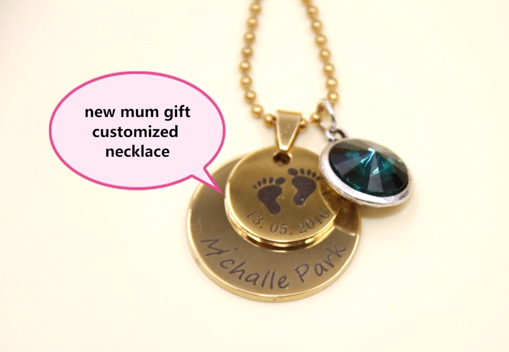 b241900033721 pendant necklace personalized mom necklace custom jewelry baby name ...