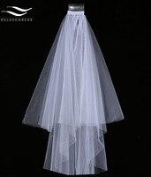 2016 Tulle Veil Lace Edge Elegant White Lace Short Bridal Veil 2016 For Wedding Event Wedding