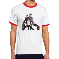 Cotton Printing O-Neck Men Blusas Mujer Cartoon Hip Hop Trend Short Tshirt