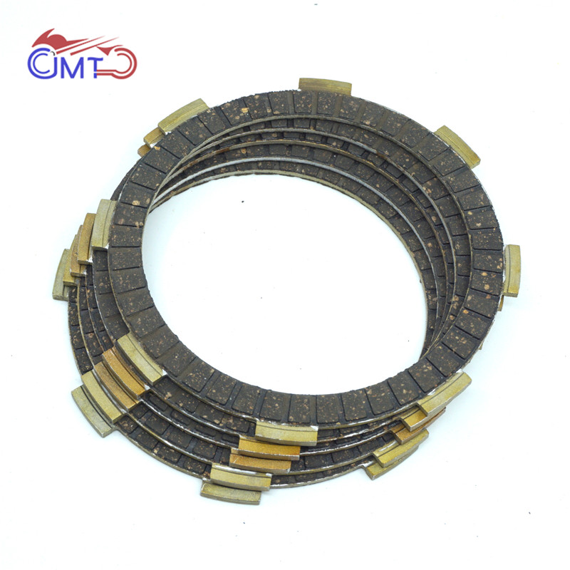 For Honda XL125S 1979-1985 XL185S 1979-1983 XL200R 1983-1984 TLR200 TR200 1986-1987 Clutch Friction Disc Plate Kit 5 Pieces