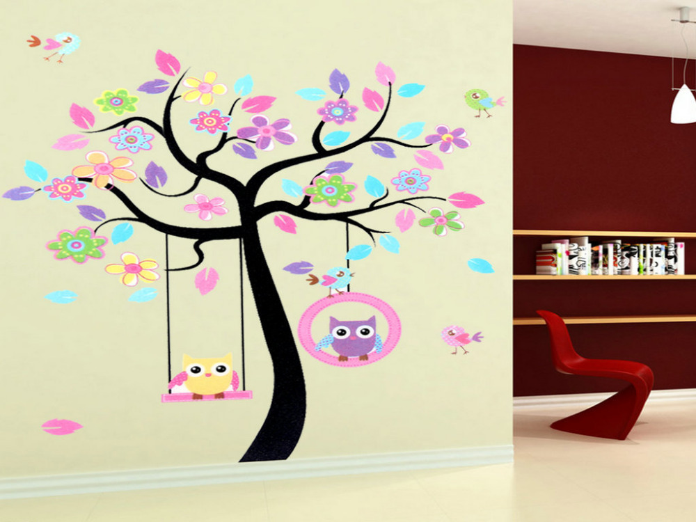 jpg middot office christmas. New Home Decor Rooms Decal Wallpaper Owls Tree Kids Mural Living Mall Removable Wall Stickers-in Stickers From \u0026 Garden On Aliexpress.com Jpg Middot Office Christmas M