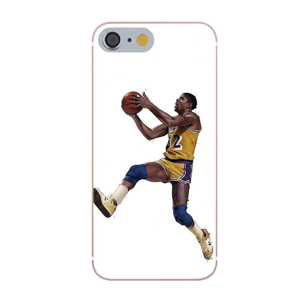 680796a671b ... Oedmeb Basketball Cartoon Lebron James Kobe Bryant For Galaxy Alpha  Core Prime Note 4 5 8 ...