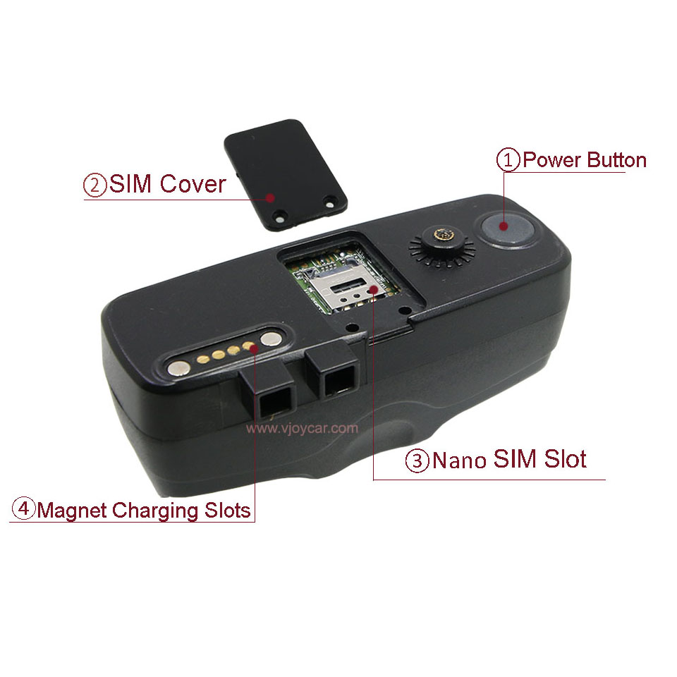 VJOYCAR T19 GPRS GSM GPS nyomkövető Kerékpár készenlét 90 napos - Autóelektronika - Fénykép 5