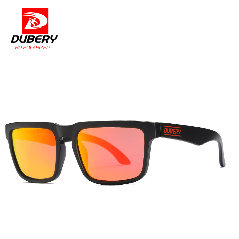 DUBERY classic style Square sunglasses Polarized Sunglasses Sports trend Sport Fietsbril Riding glasses
