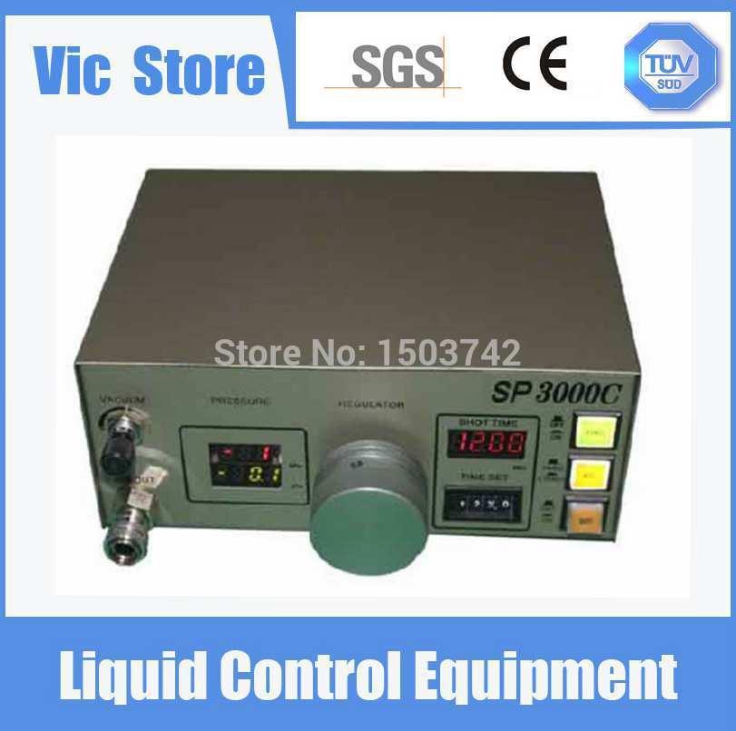 220V Auto Glue Dispenser Solder Paste Liquid Controller Dropper SP3000C Dispensing Machine цена 2017