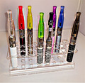 1 pcs Acrylic Display Stand for E-Cigarett 24 pcs capacity for ego and EVOD