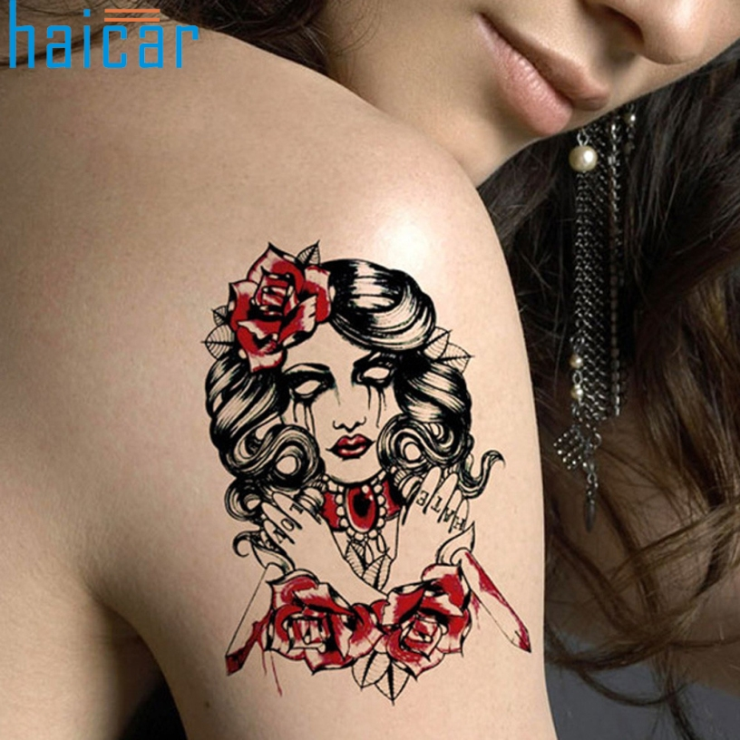 Online buy wholesale halloween pictures ghosts from china for Wholesale temporary tattoos