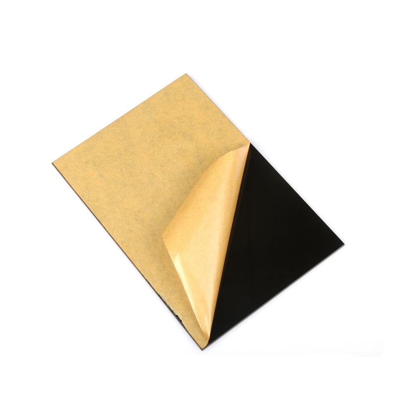 1piece Acrylic Board A4 Black Extruded Plexiglass Perspex Sheet Pmma Plate 297x210mm